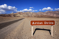 Artist Drive, Death Valley, CA